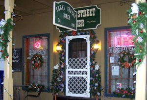 Holiday time at Canal Street Diner