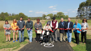 Towpath Trail Ribbon Cutting Ceremony 2016